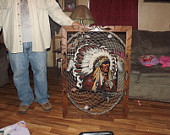 Handmade by a me Ron Locklear the biggest ever made in county. Sold to a proud ower in Texas